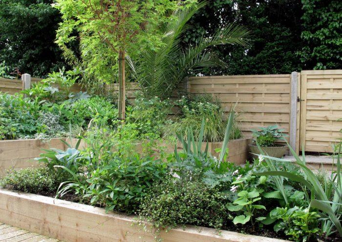 Mid-Century Split-Level Garden, in Bromley