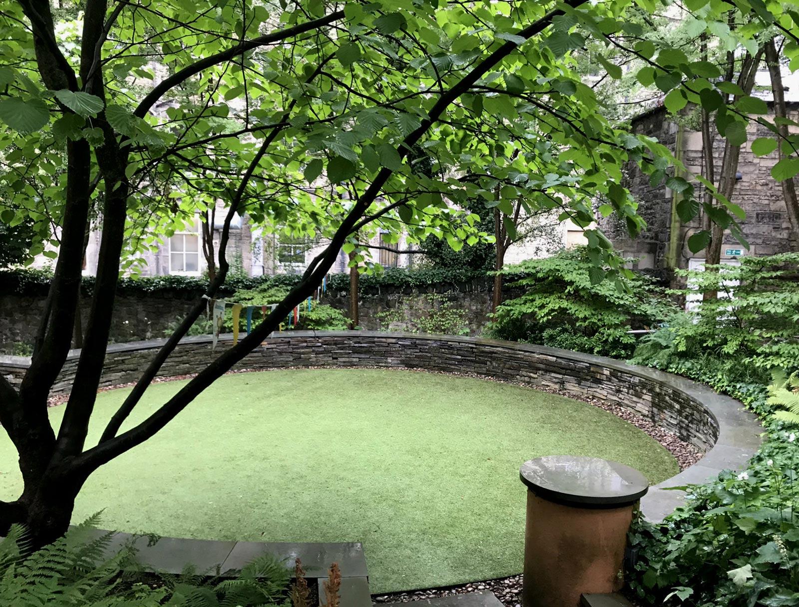 Royal Mile Hidden Gardens, Edinburgh, Read about UNESCO Site