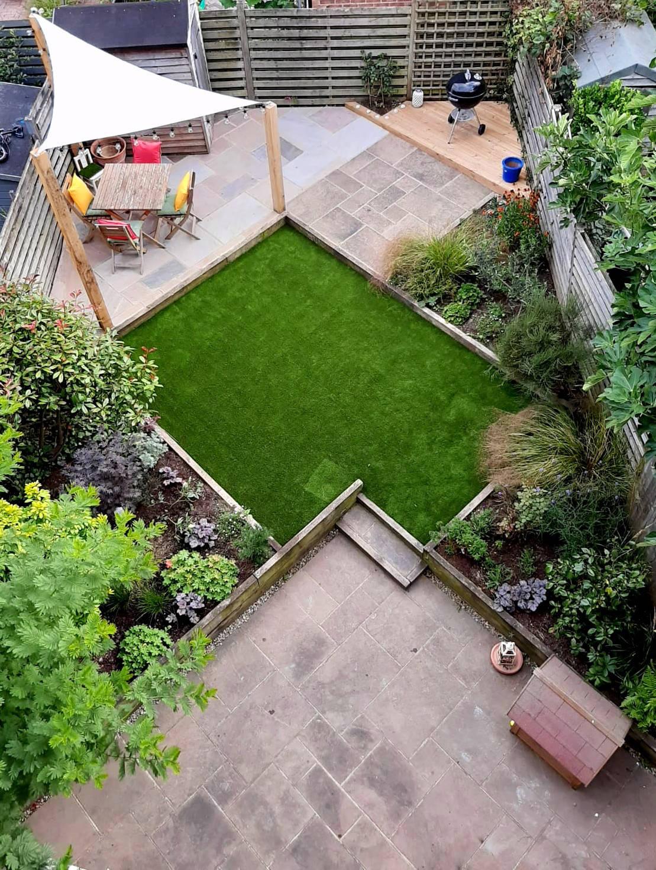 Urban garden - After