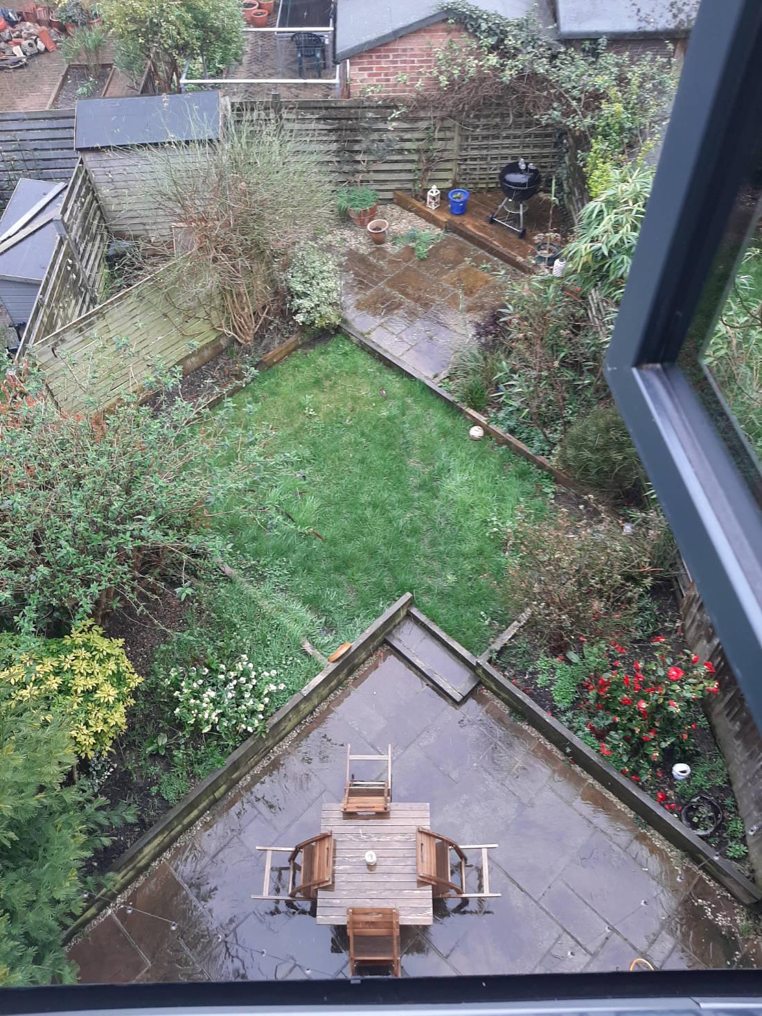 Urban garden - Before