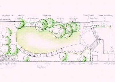 Foxgrove Road sketch